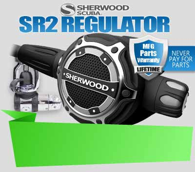 Sherwood SR2 Scuba Regulator