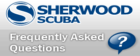 Sherwood Scuba Frequently Asked Questions - FAQ